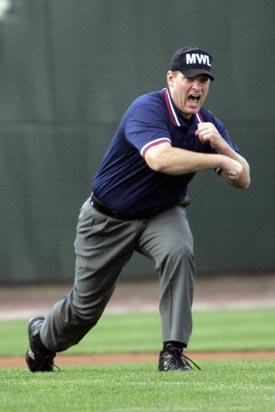 Umpire Out Signal Baseball