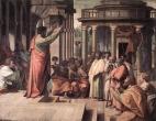 St Paul preaching